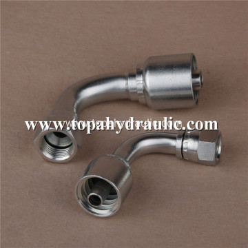 non crimp hose oil stainless push fittings